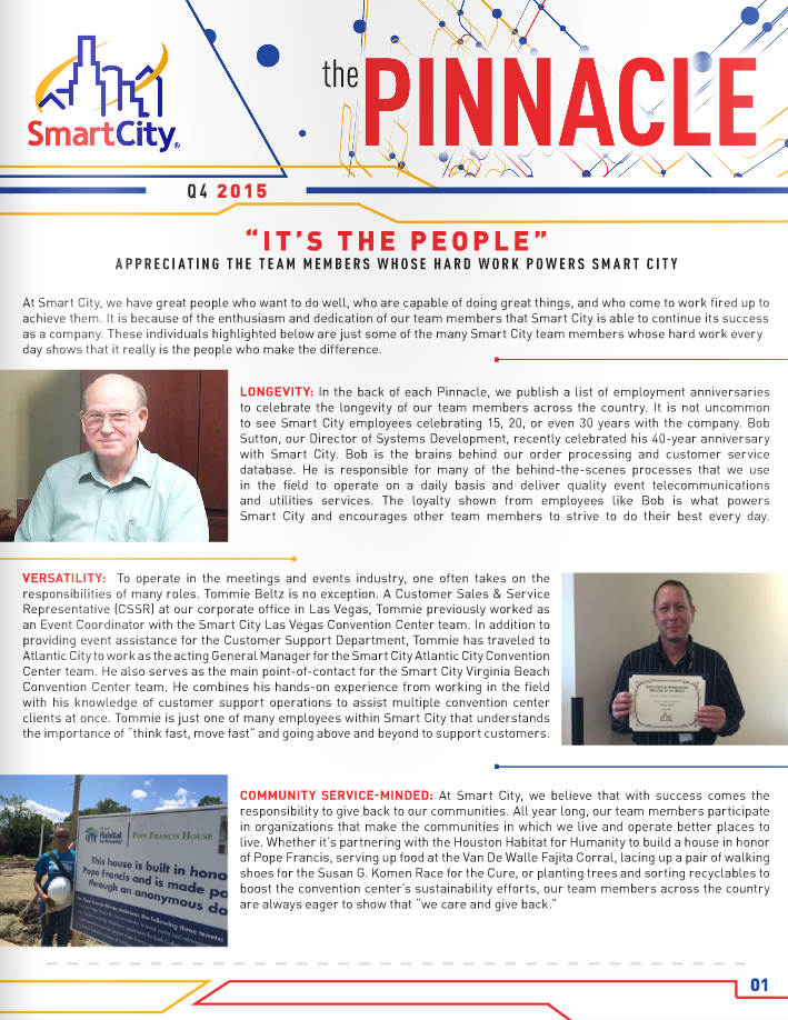 4Q Pinnacle newsletter cover