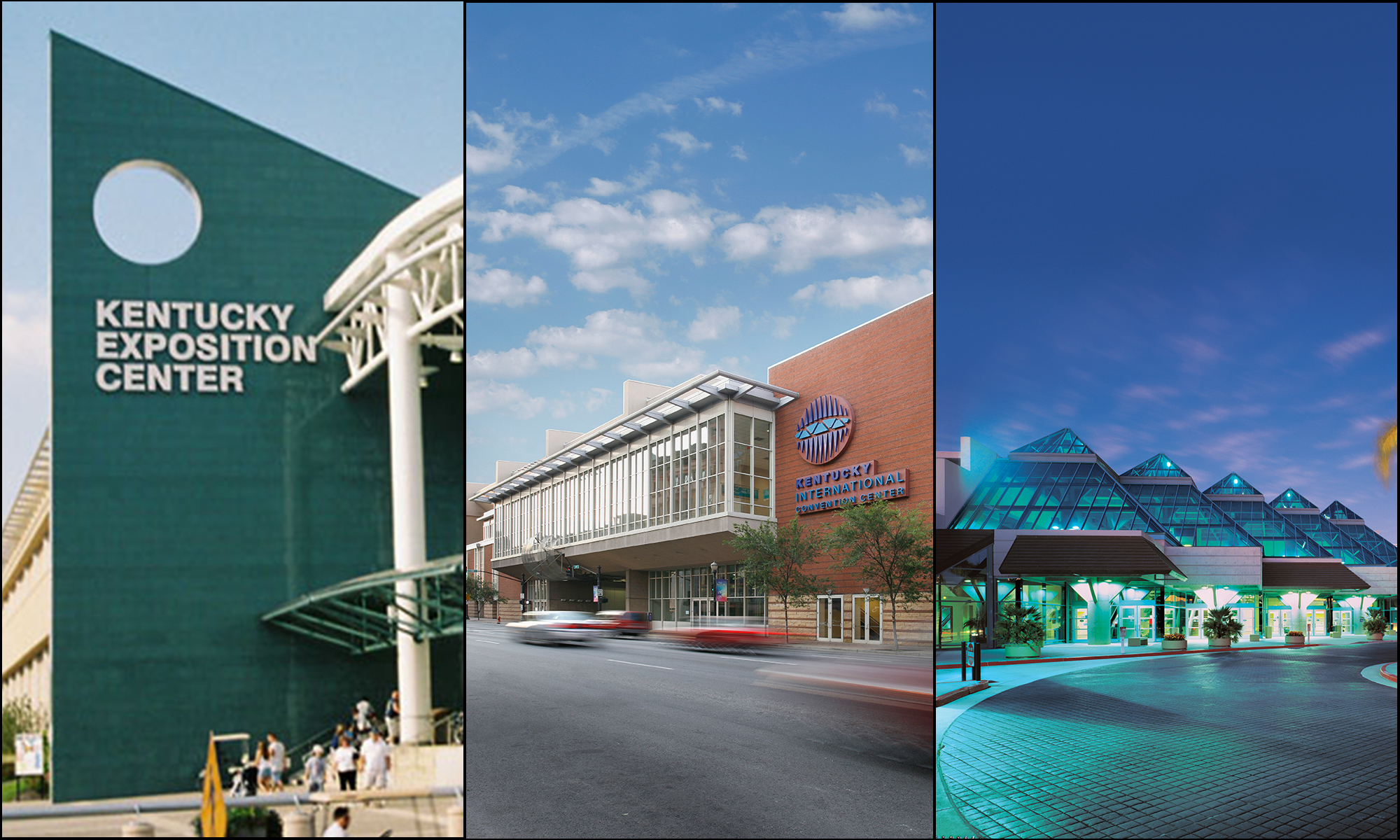 Kentucky Expo Center, Kentucky International and Santa Clara Convention Centers