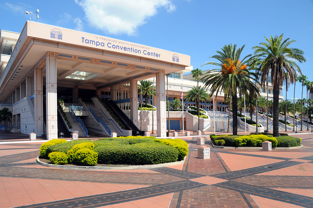 Entrance to Tampa Convention Center