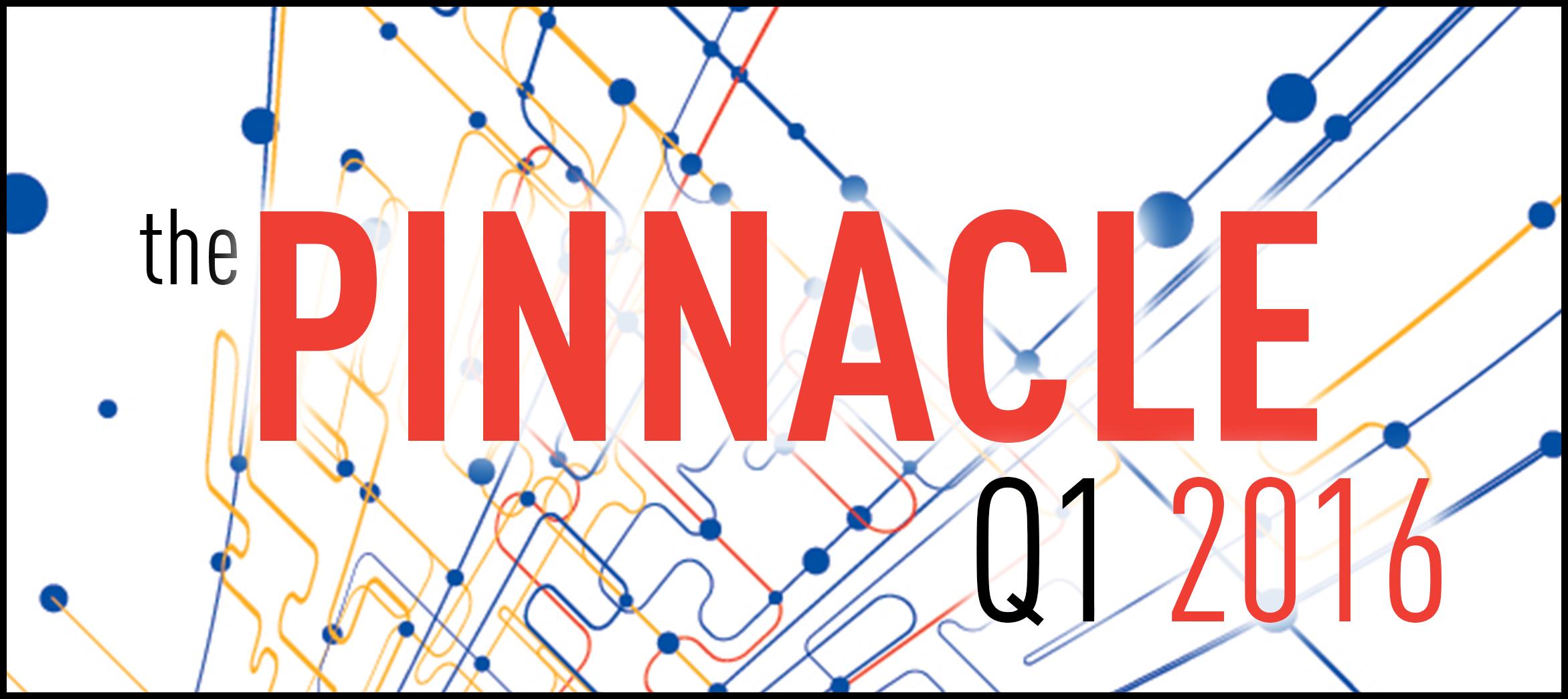 2016 First Quarter Pinnacle