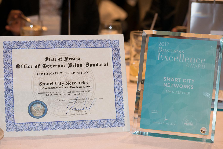 Smart City's Trendsetters award