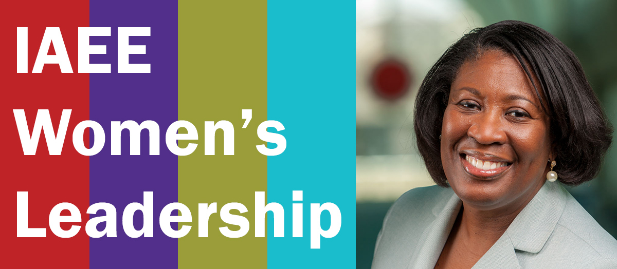 Message from IAEE Women's Leadership Committee Chairperson