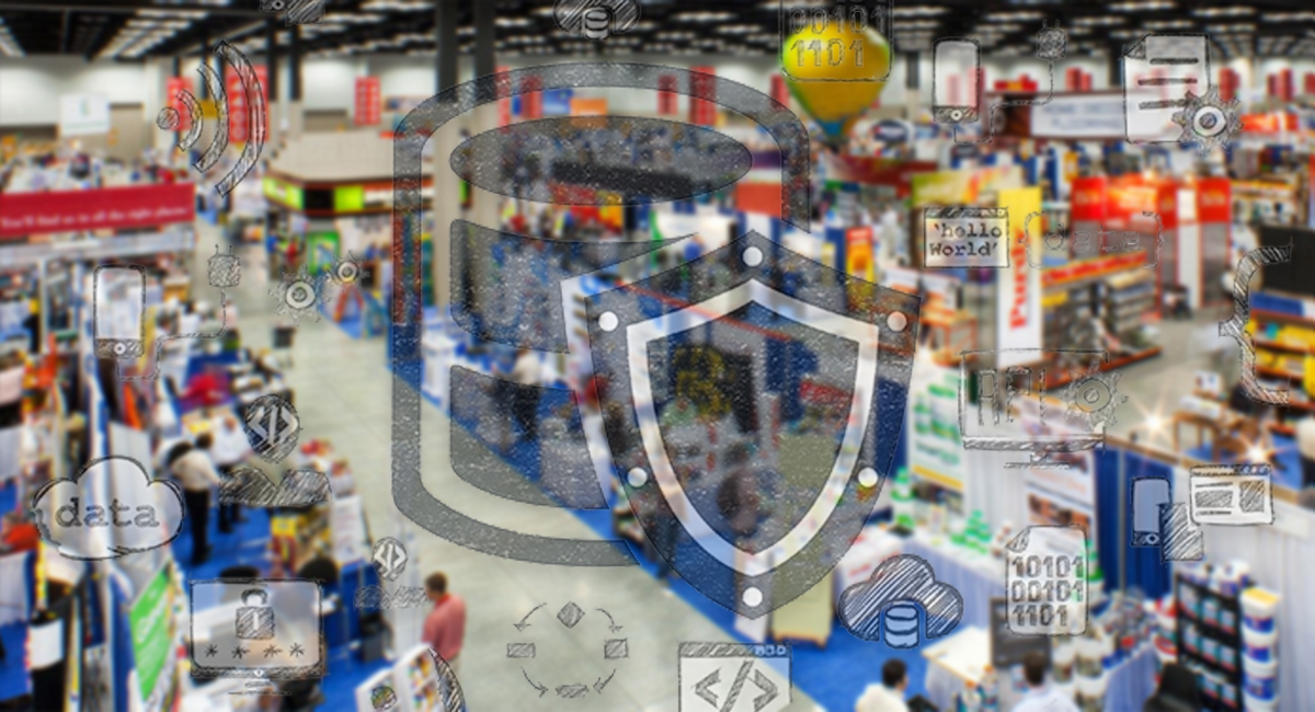 Protecting big data at conventions
