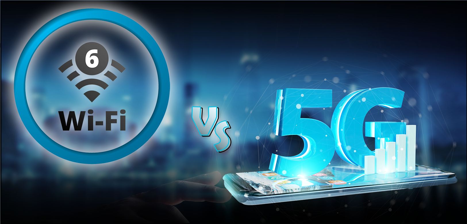 Fifth generation cellular data vs Wireless Internet generation 6